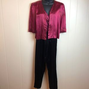 Vintage 70s 2pc Crop Jacket & Disco Jumpsuit